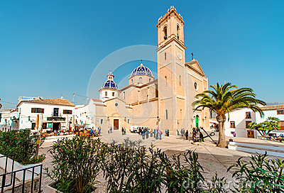Old Town Altea Spain Stock Photos, Images, & Pictures.