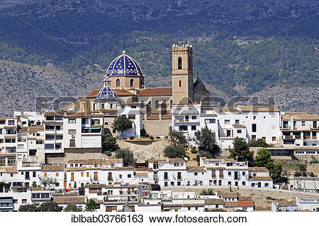 "Stock Photo of ""Church of La Mare de Deu del Consol or Nuestra."