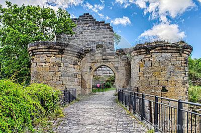 German Travel Destinations Castle Ruin Altenstein In Upper.