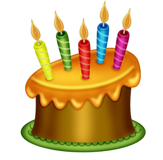 Happy birthday altered clipart.