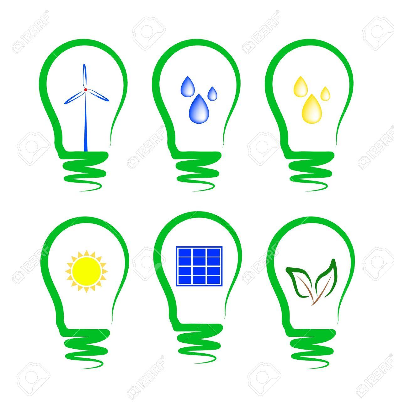 Alternative energy clipart.