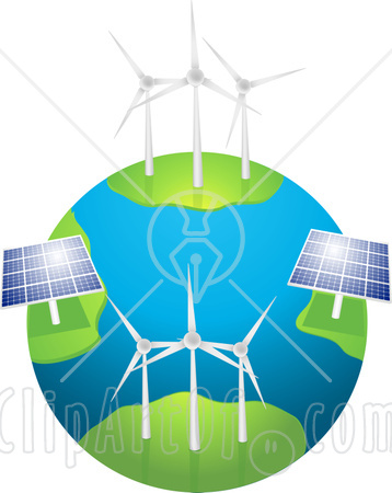 Renewable Energy Clipart.
