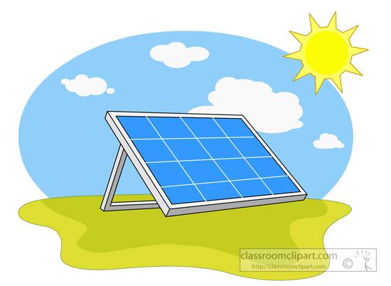 Solar Power Clipart.