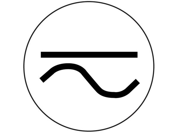 Alternating Current Symbol.