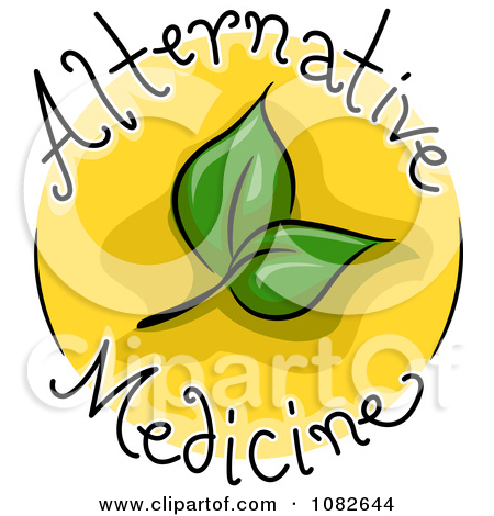 Alternative medicine clipart.