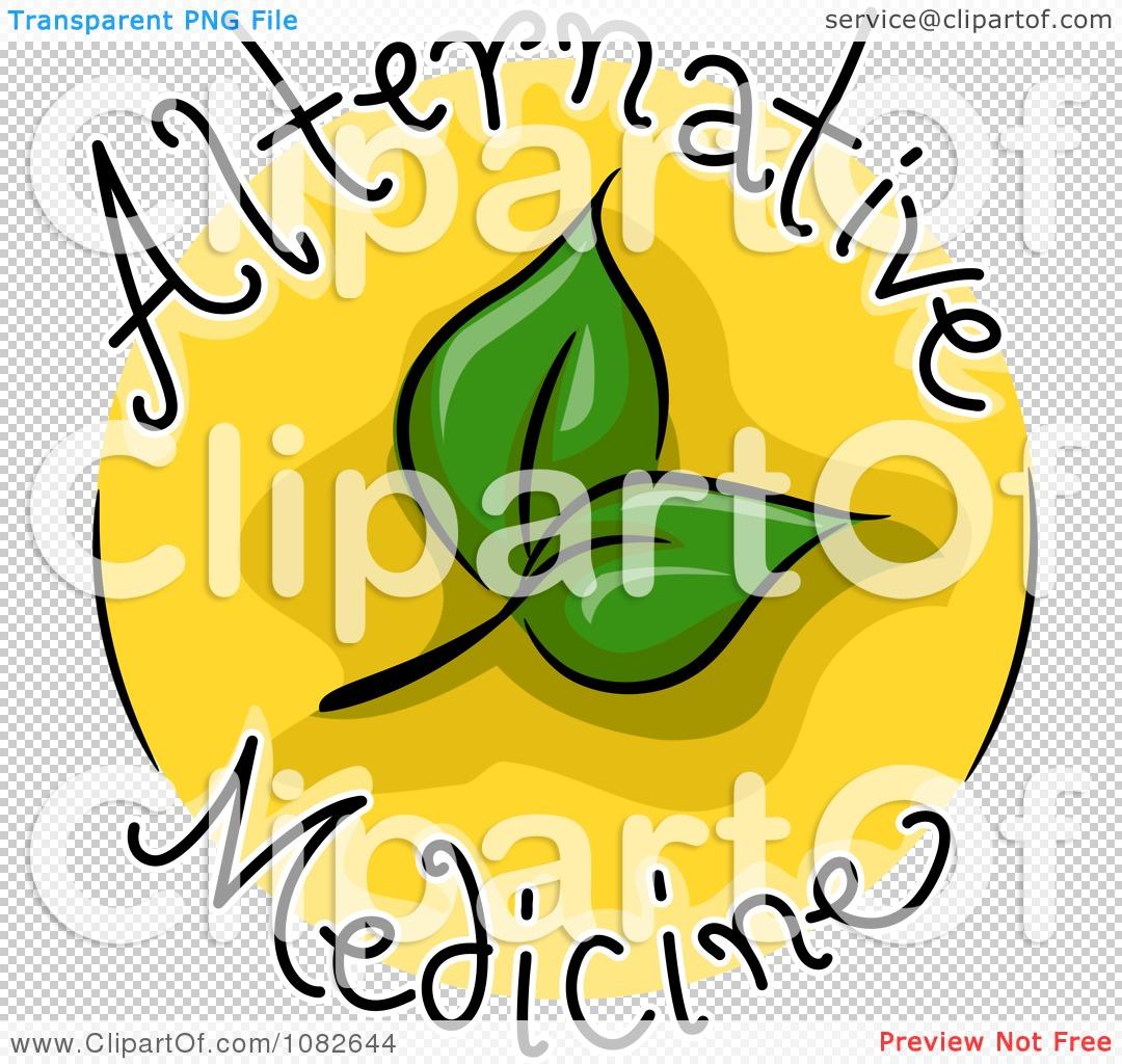 Clipart Alternative Medicine Blog Icon.