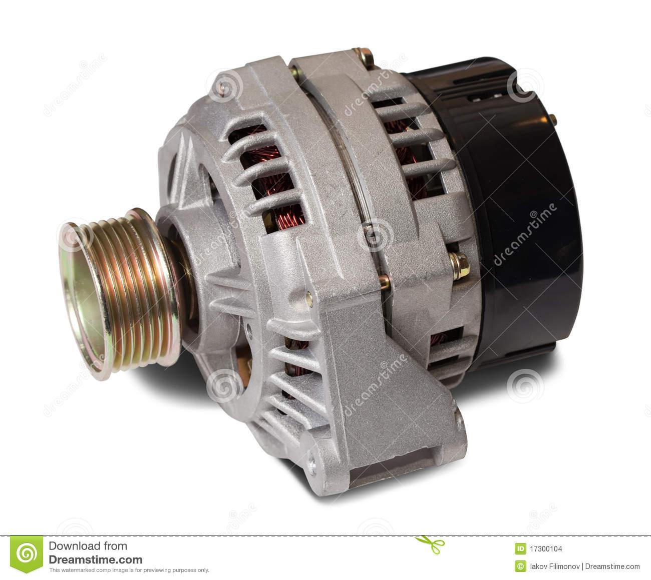 Automotive Alternator Stock Images.
