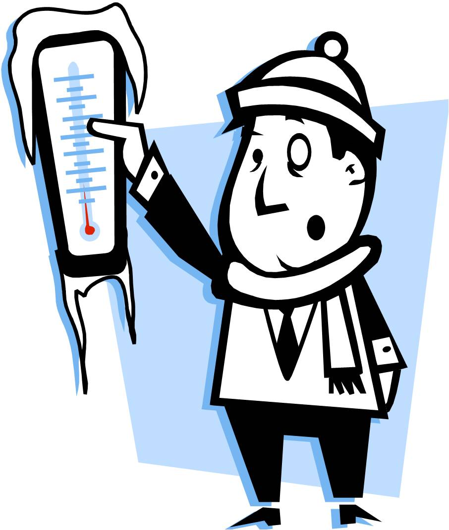 Clip Art Freezing Weather Clipart.