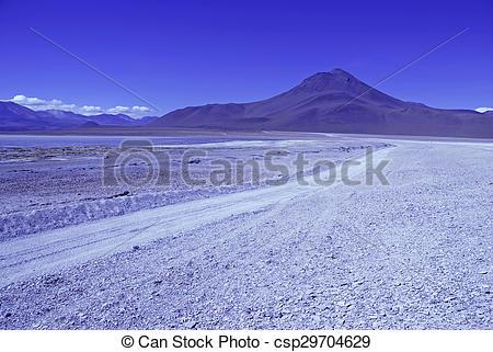 Stock Photo of High altiitude Bolivian Altiplano csp29704629.