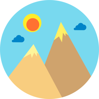 Atmosphere,Massif,Mount Scenery Vector Clipart.