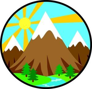 Mount clipart #7