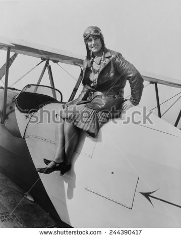 Aviatrix Stock Photos, Royalty.