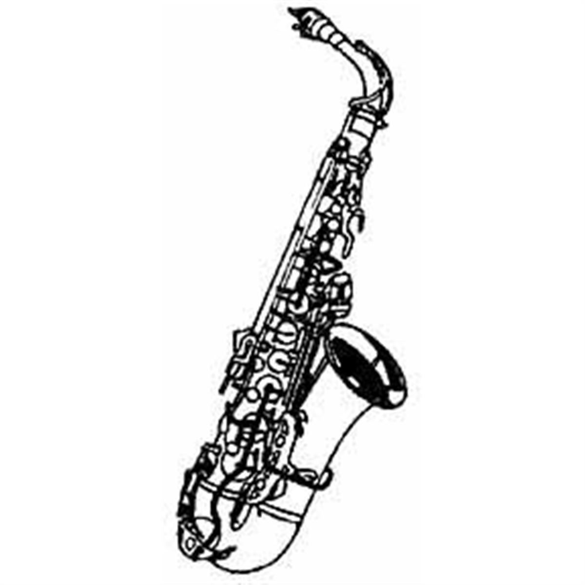 Alto saxophone clipart.