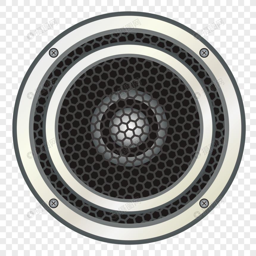 alto falante do amplificador Imagem Grátis_Gráficos Número.