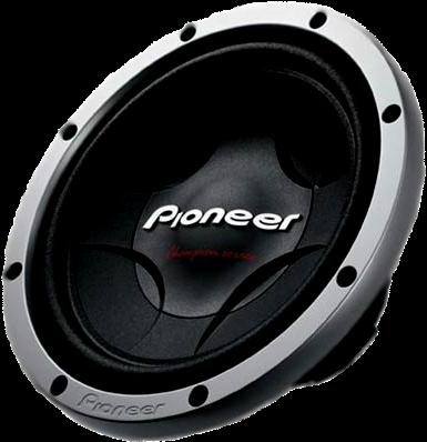 Download HD Alto Falante Pioneer Png.