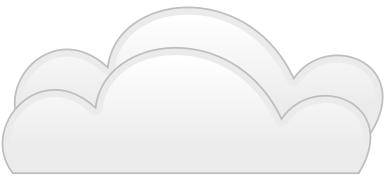 Cumulus Clouds Clip Art.