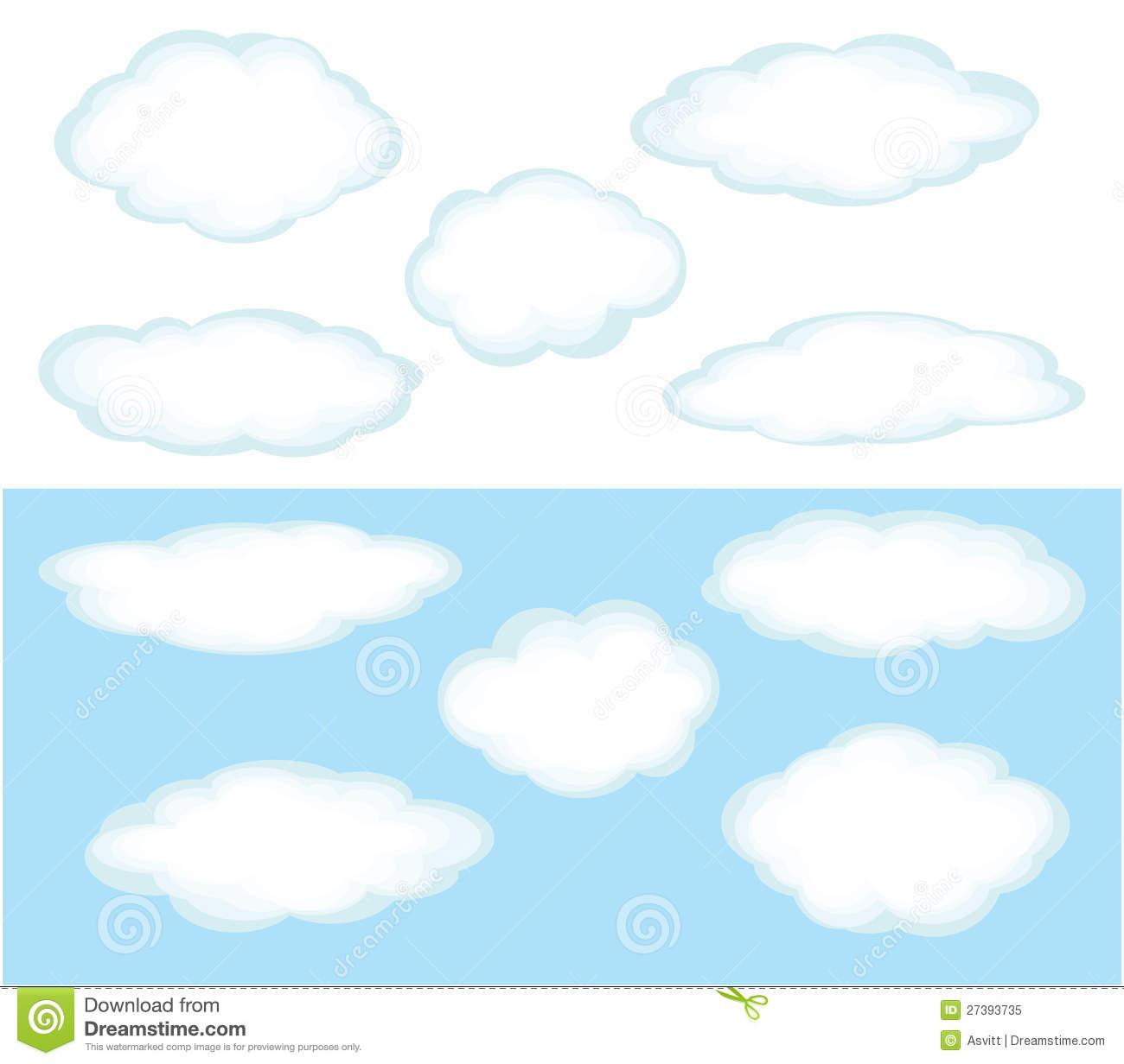 Cumulonimbus cloud clipart.