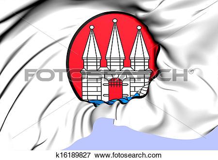 Stock Illustration of Altona Coat of Arms, Germany. k16189827.