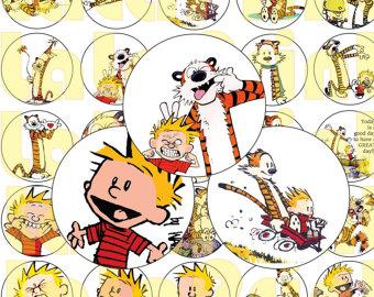 Calvin and hobbes.