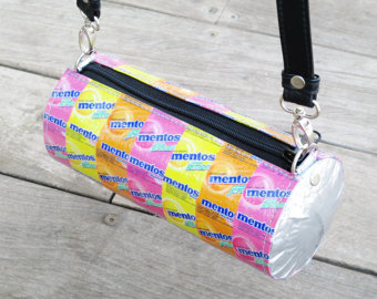 Candy wrapper purse.