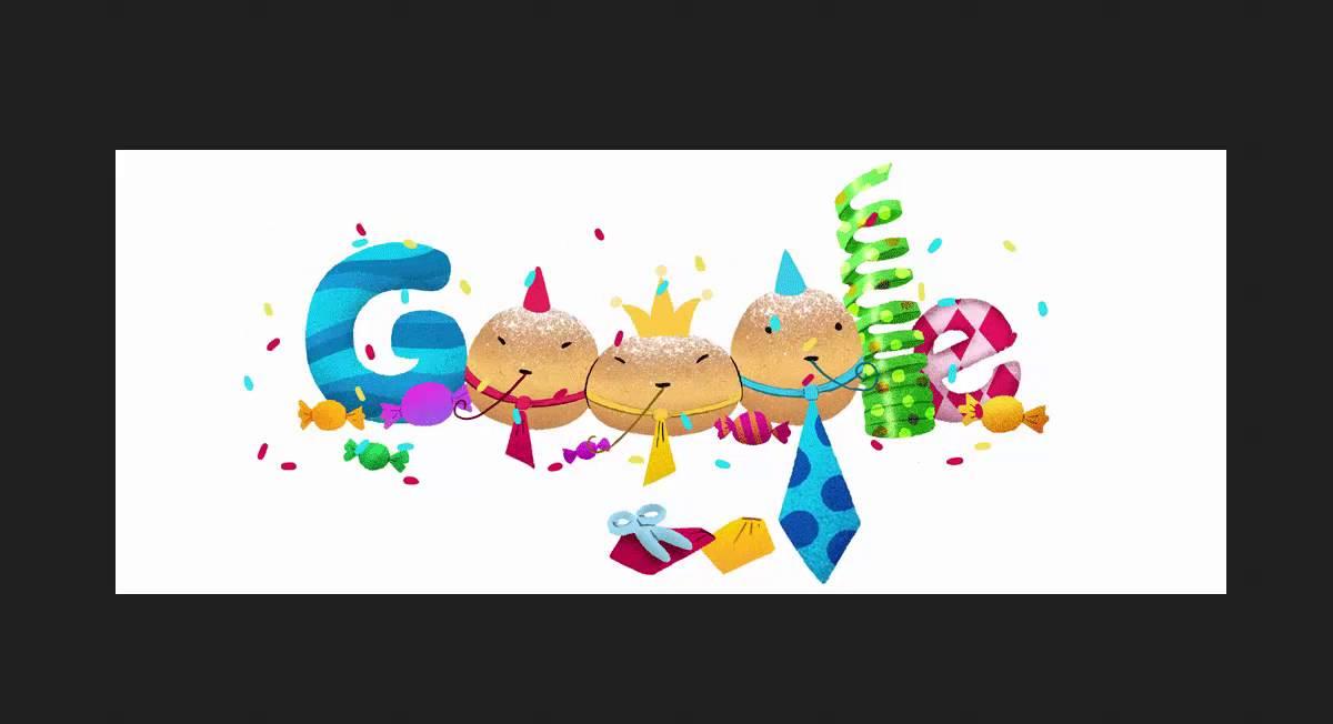 Weiberfastnacht 2016 Animated Google Doodle.