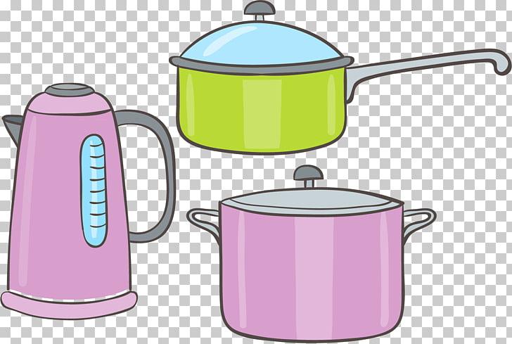 Kettle Stock pot , Kettle aluminum pot lid elements PNG.