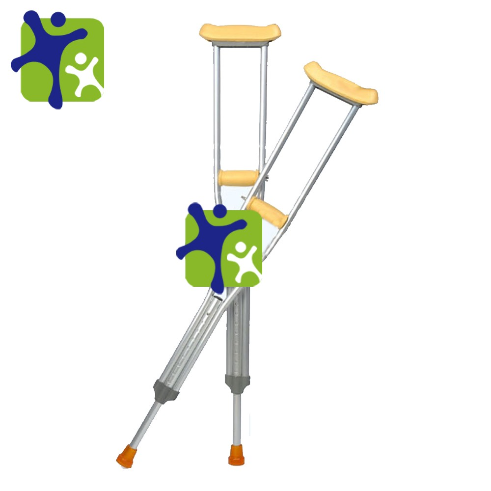 Adjustable Underarm Aluminum Medical Elbow Crutches,Disabled Crutches  Adjustable Telescopic Crutches Gz.