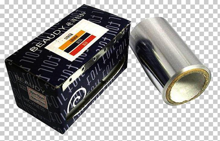 Paper Aluminium foil Tin foil, Aluminum foil roll PNG.
