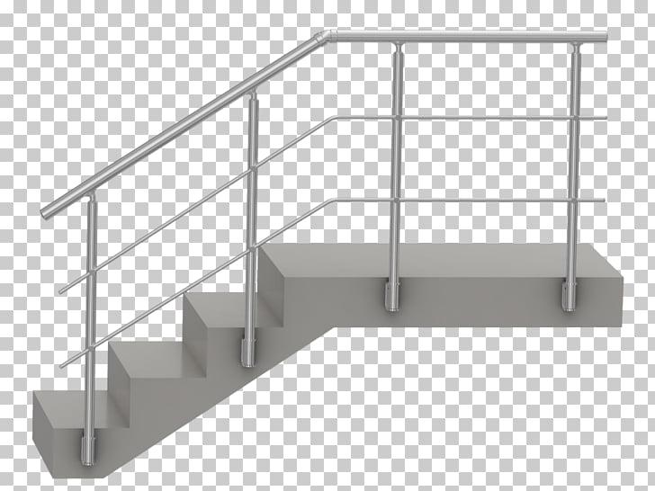 Handrail Aluminium Guard rail Stairs Steel, stairs PNG.