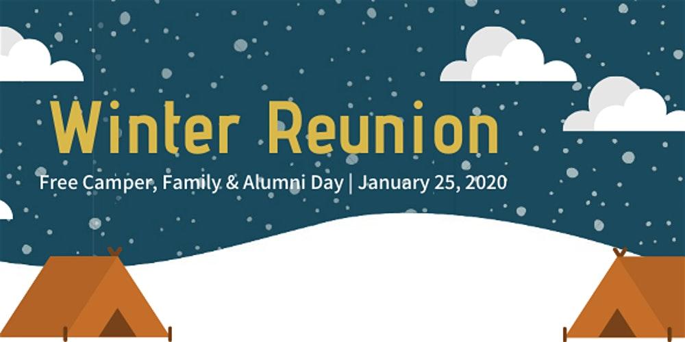Winter Camper, Family & Alumni Reunion Tickets, Sat, Jan 25.