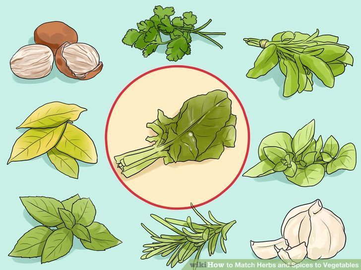 How to Match Herbs and Spices to Vegetables (with Pictures).