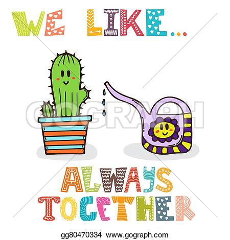 Always together clipart #14