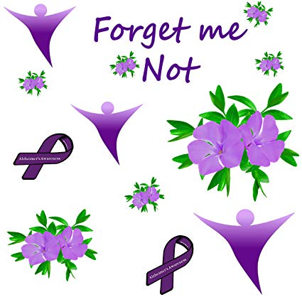 Amazon.com: Alzheimer\'s Awareness Fabric.