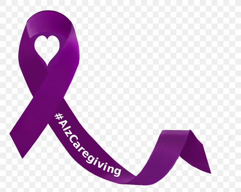 Alzheimer\'s Disease Logo Clothing Accessories Ribbon.