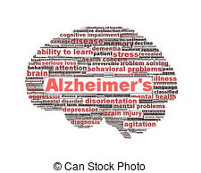Best Alzheimer's Disease Illustrations, Royalty.