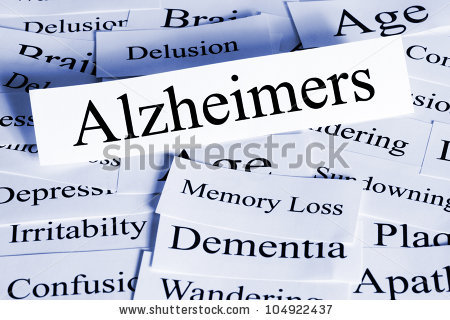 Alzheimers disease clipart.