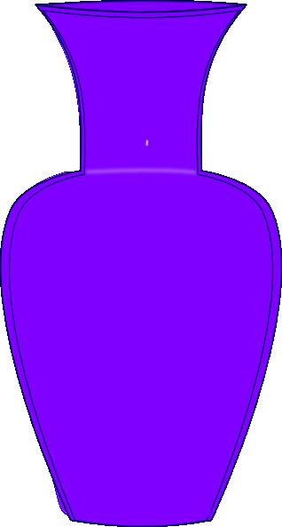 Purple Vase clip art. Invite person with memory loss to.