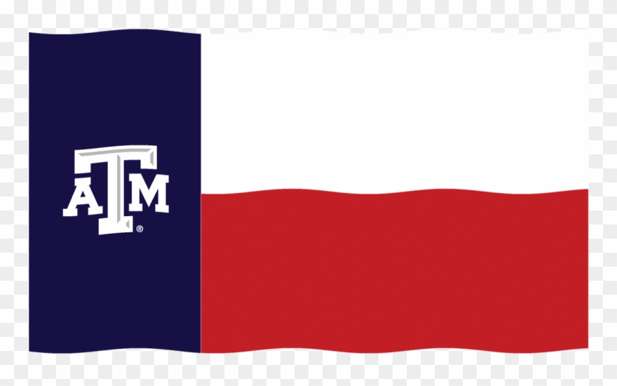 Texas Am Flag Sticker By Texas A&m University Clipart.