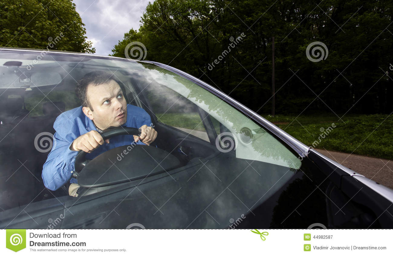 Lost driver stock image. Image of shocked, nature, driving.