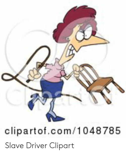 Clipartofcom1 048785 Slave Driver Clipart.