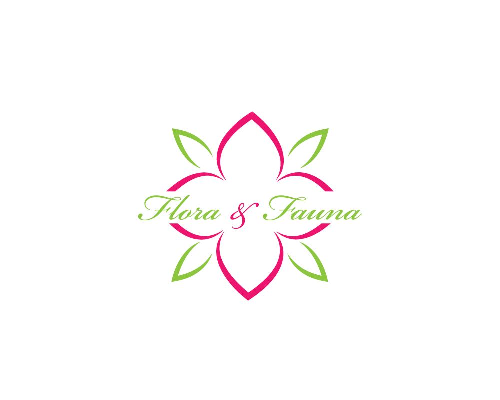 Modern, Feminine Logo Design for Flora & Fauna by AmPm.