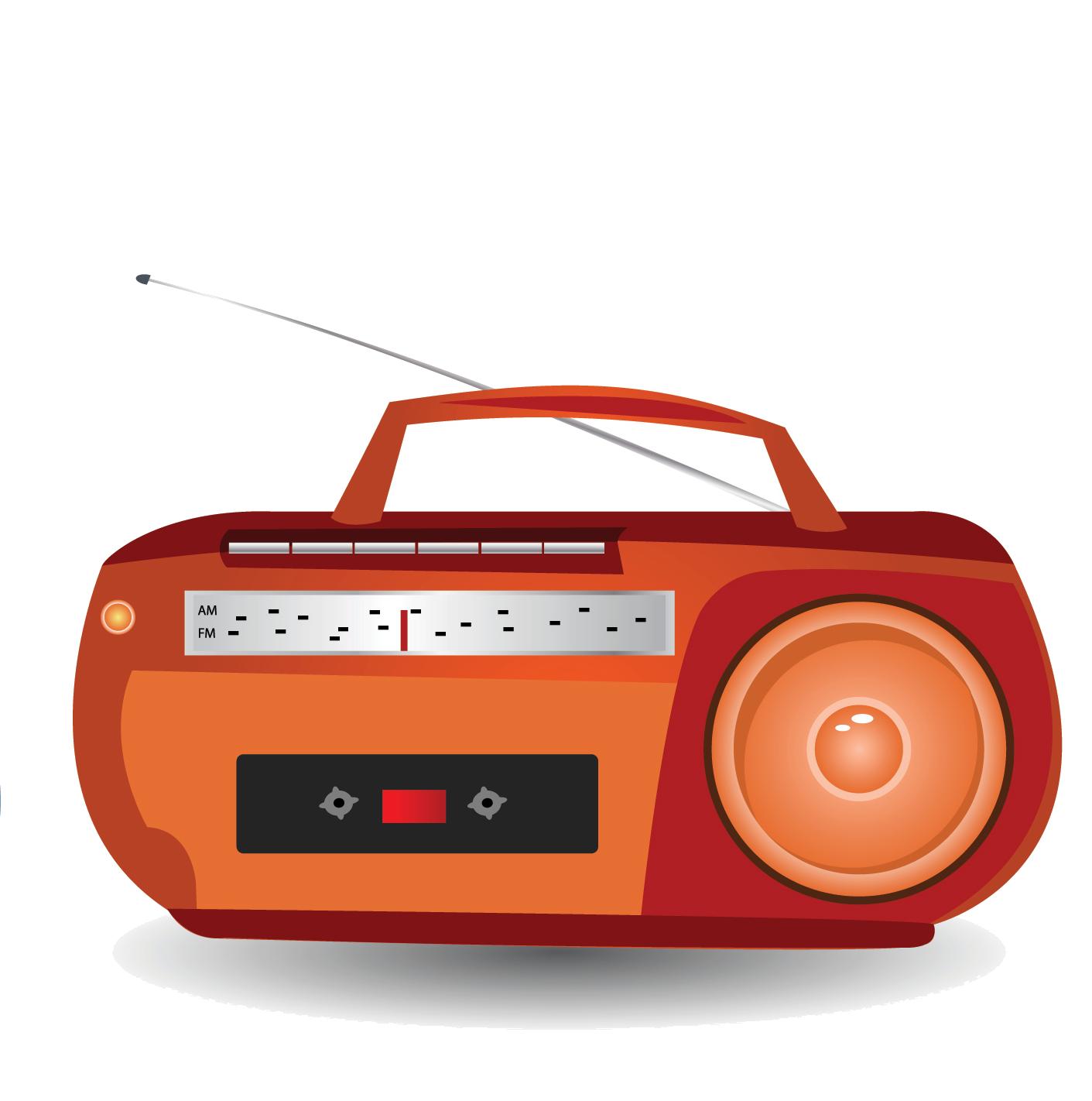 Boombox clipart fm radio, Boombox fm radio Transparent FREE.