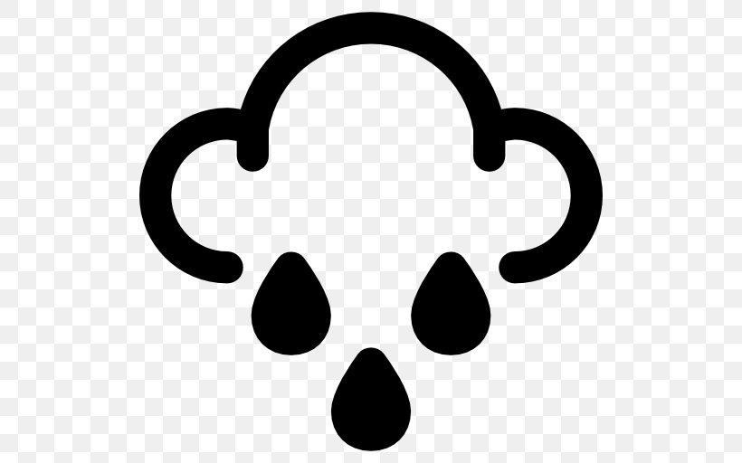 Rain Weather Clip Art, PNG, 512x512px, Rain, Black, Black.