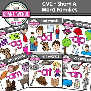 CVC Clipart.