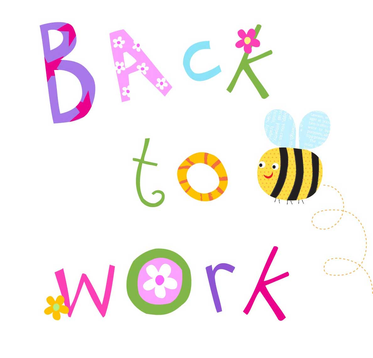 Back To Work Clipart.