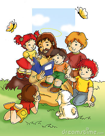 Jesus Stock Illustrations.