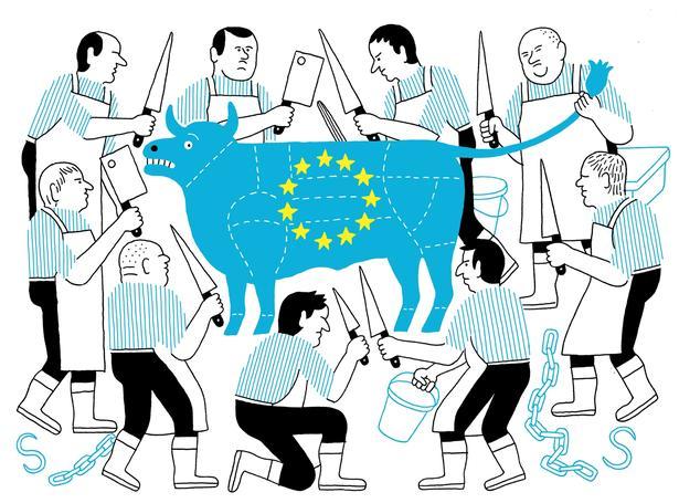 Drawing Europe.
