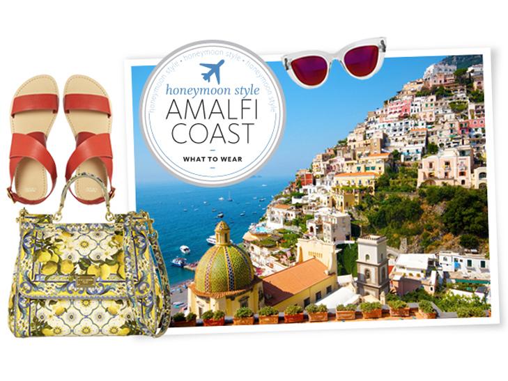 Honeymoon Packing Essentials for the Amalfi Coast.