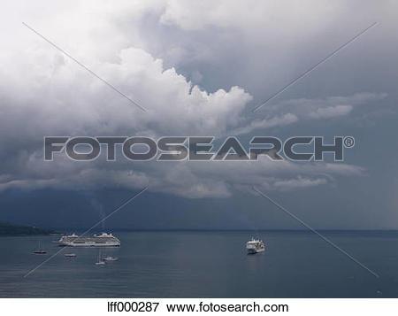 Picture of Southern Italy, Amalfi Coast, Piano di Sorrento, View.