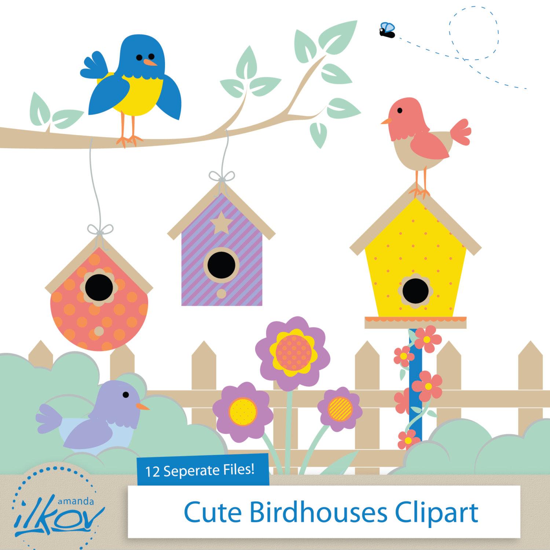 Birdhouse Clipart & Birdhouse Clip Art Images.